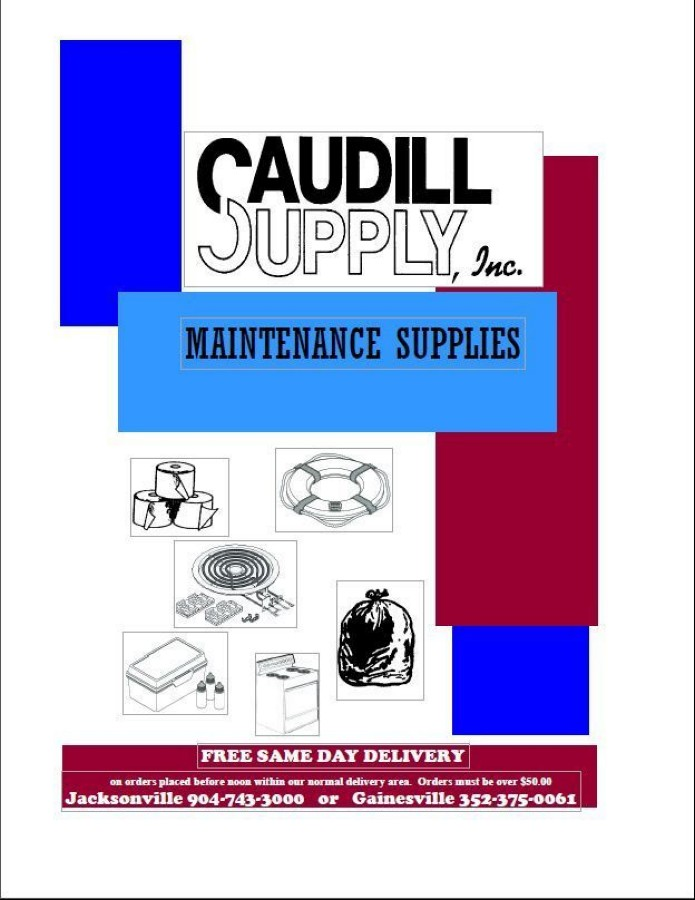 Caudill Parts & Supplies Catalog